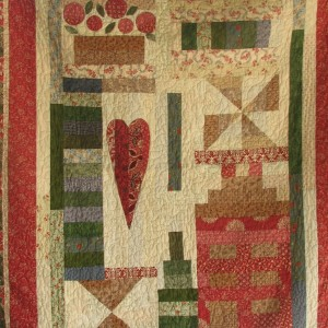 Heart and Home Quilt
