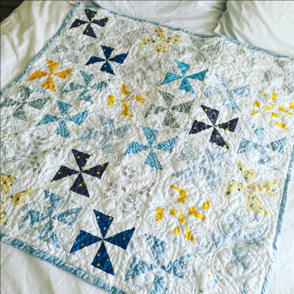 Baby Quilt Patterns For Boy : Little Boy Baby Quilt Quiltsby.me