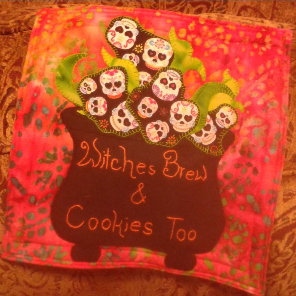 Witches Brew and Cookies Too | Quiltsby.me