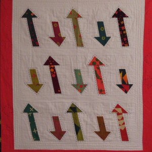 Any Which Way Mini Quilt