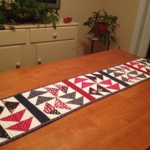 Patriotic Table Runner.