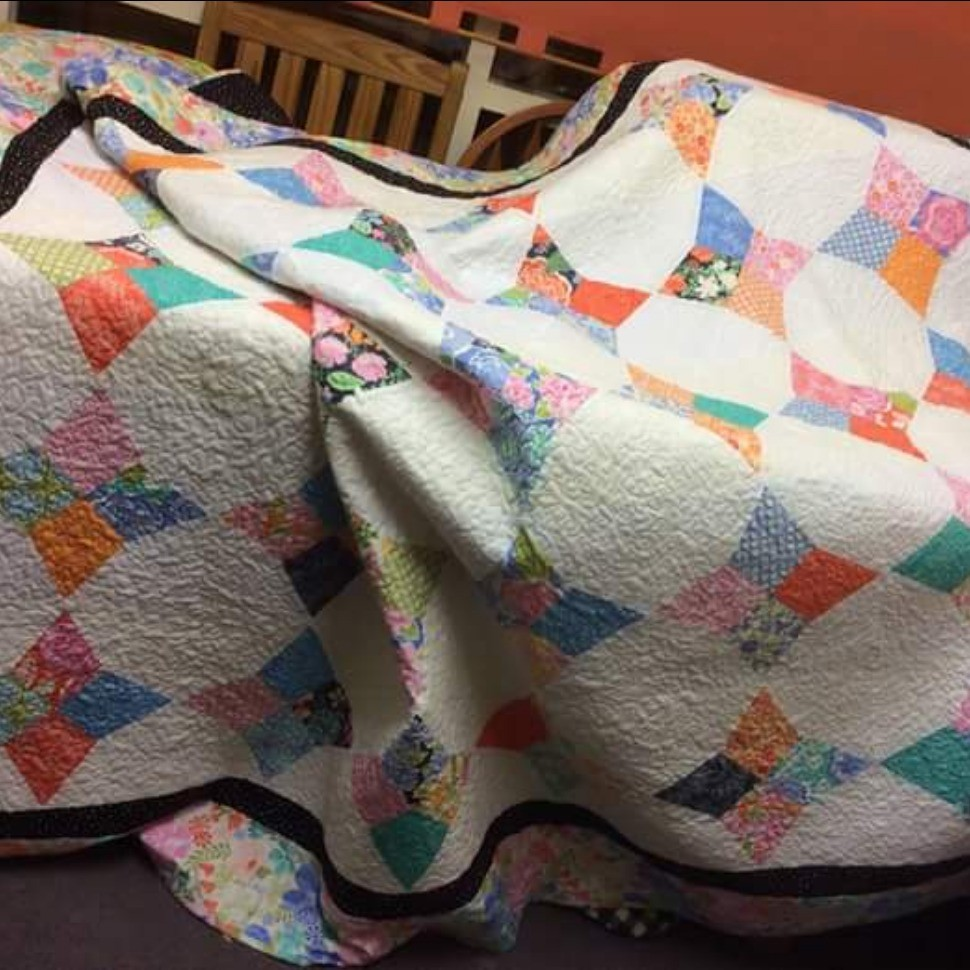 Periwinkle quilt | Quiltsby.me