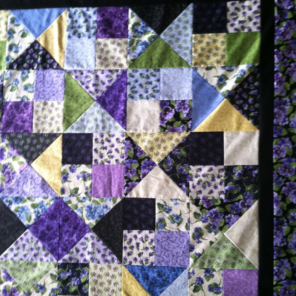 A quilt for me 4/2014