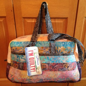 Jelly Roll Travel tote