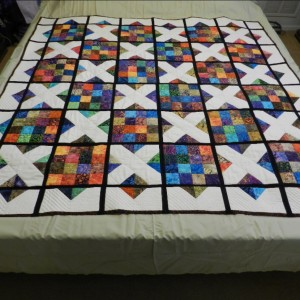 A MIX BREED, OOPS - A MIX QUILT,