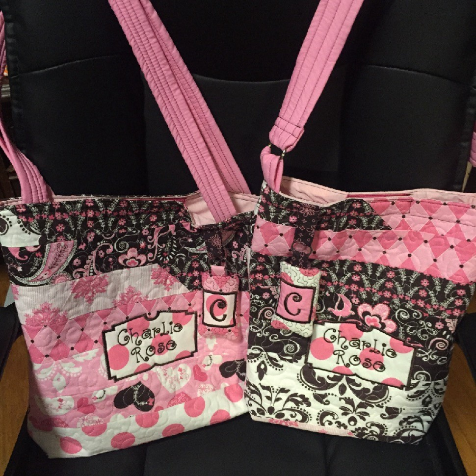Shabby Chic Diaper bag