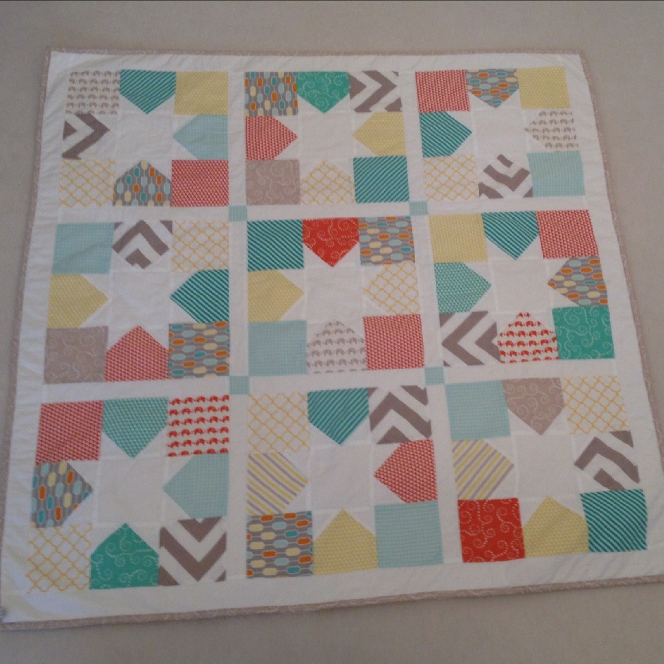 Baby Boy Quilt II - Charming Stars