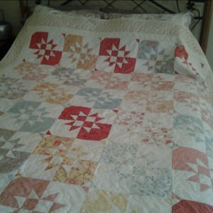 Disapearing Hourglass Quilt