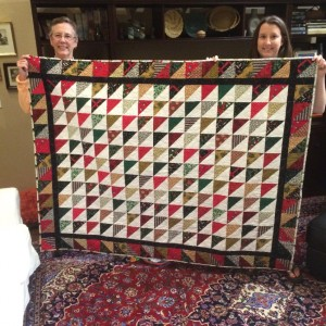 Christmas Quilts for the Girls