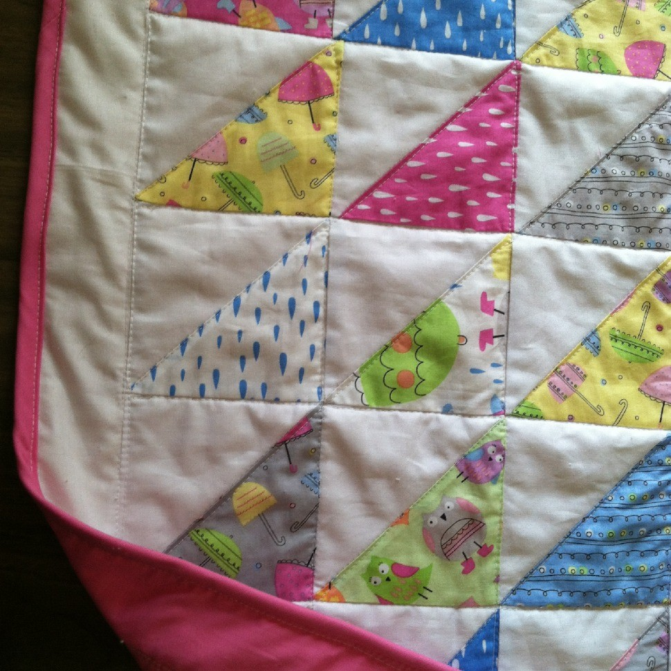Baby Quilt - July 2014