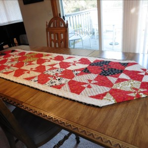 A Lost and Found Christmas Table Runner